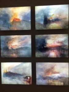 Hiroyuki Masuyama - JWM Turner-Burning Houses Of Parliament (nr. 3-4-5-6-7-8)
