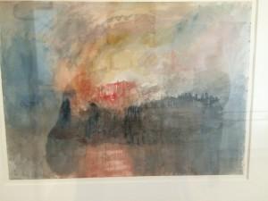 W.M. Turner - Burning House Of Parliament (nr. 5)
