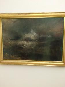 W.M. Turner - Stormy Sea With Blazing Wreck