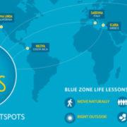 Blauwe zones op aarde