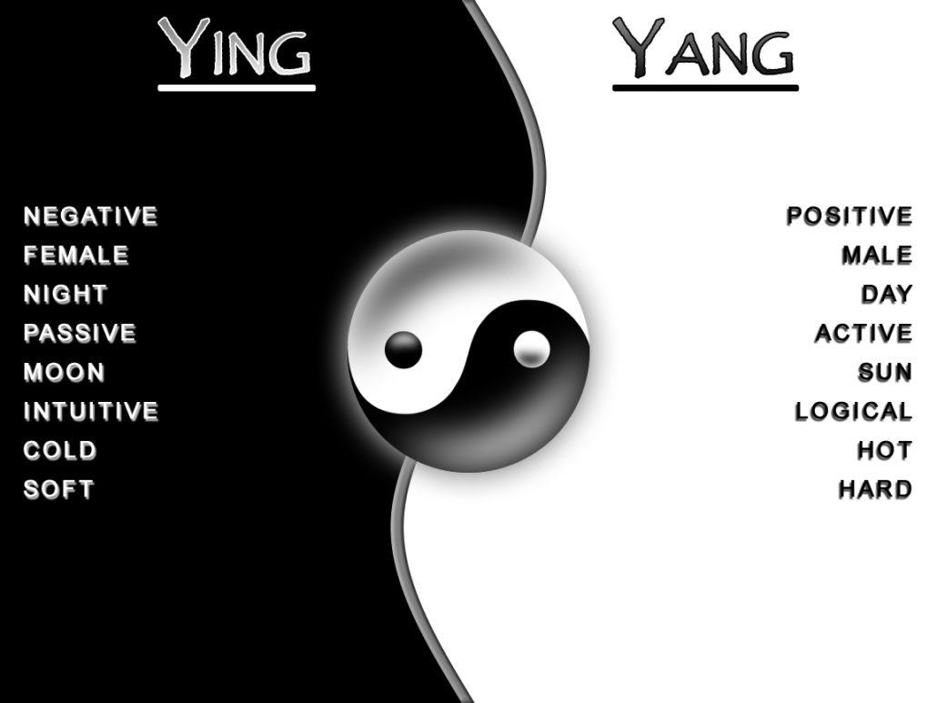 YingYang en chi