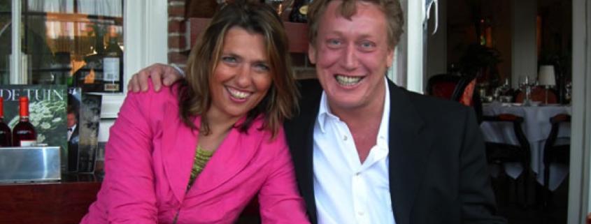 Geert Kimpen met partner