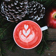 Christmas, kerst, cappuccino